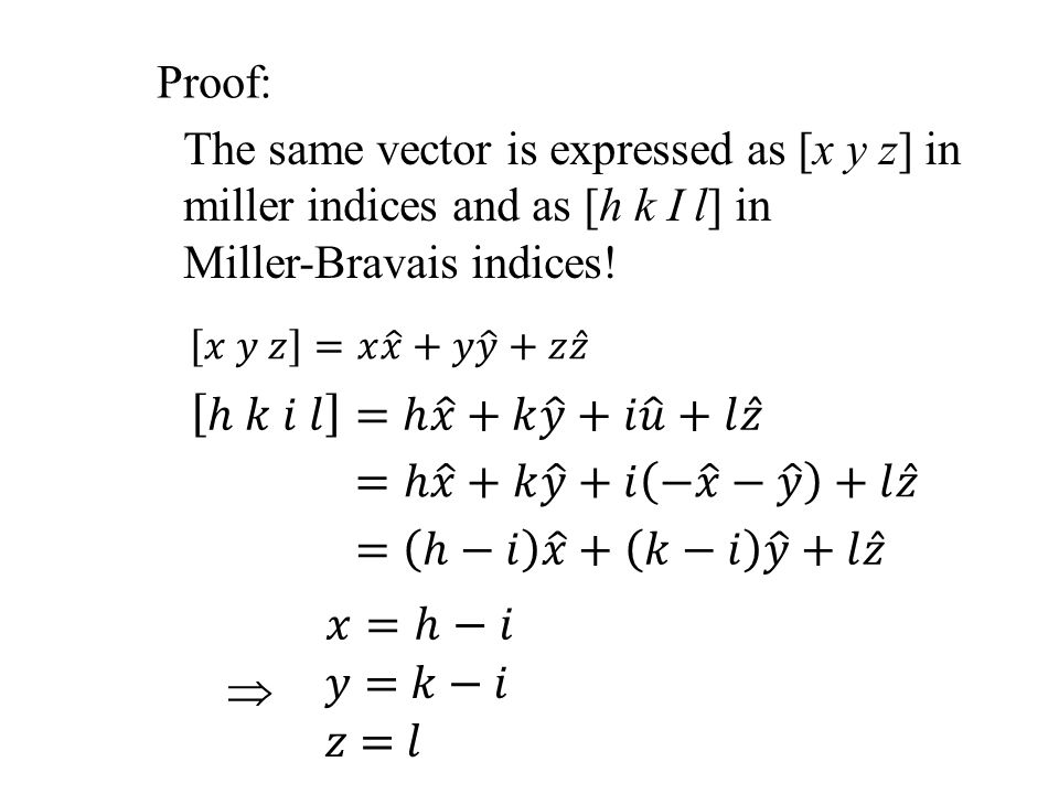 The same vector is expressed as [x y z] in